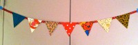 christmas is over – bring on the bunting!