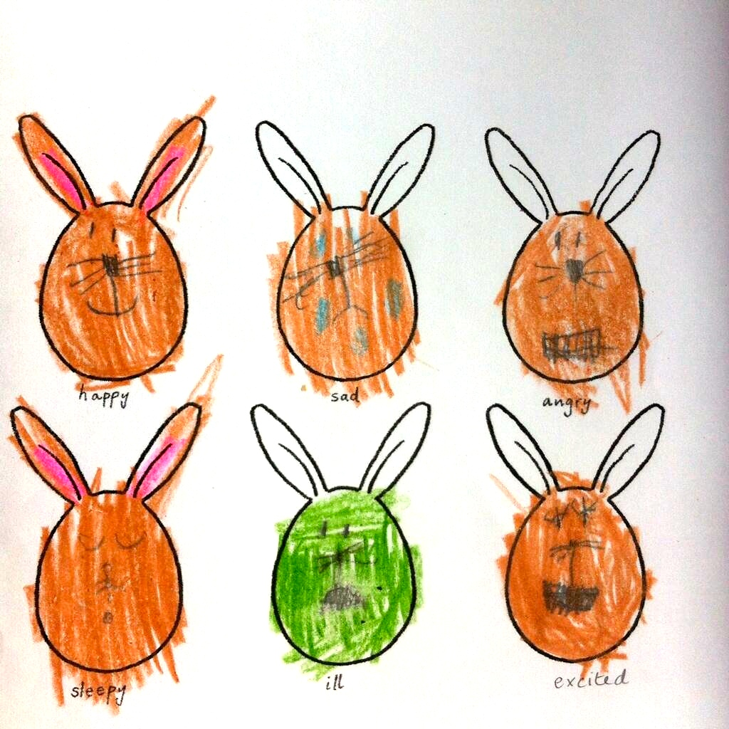 brilliant bunny faces!